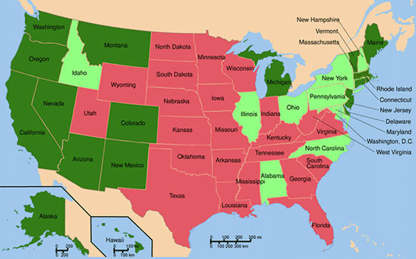 all american states should legalize the use of marijuana
