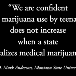 Legalization Shows No Increase in Adolescent Cannabis Use