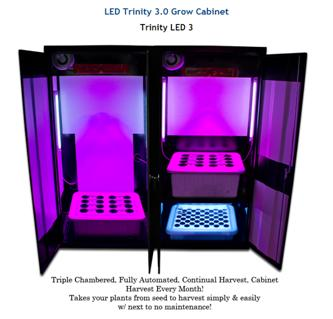 LED Trinity 3.0 Grow Cabinet  sc 1 st  Medical Marijuana & Growing Medical Marijuana in a Grow box or Tent u2013 Fast ...
