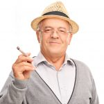 How effective is the marijuana use by the elderly patients
